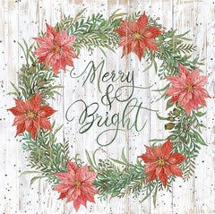 CIN1930 - Merry & Bright Wreath - 12x12