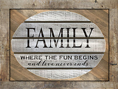 CIN2052 - Family - Where the Fun Begins - 16x12