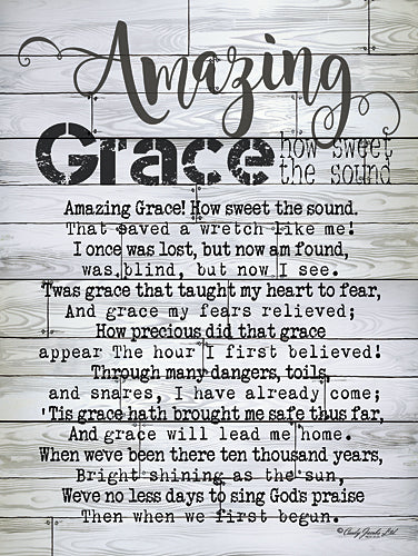 Cindy Jacobs CIN217 - Amazing Grace - Bible Verse, Sign, Inspirational, Religious from Penny Lane Publishing