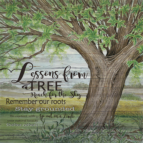 Cindy Jacobs CIN225 - Lessons for a Tree - Tree, Landscape, Inspirational, Trees from Penny Lane Publishing