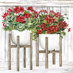 CIN2405 - Red Geraniums - 12x12