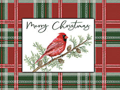 CIN2548 - Merry Christmas Cardinal - 16x12