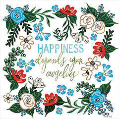 CIN2620 - Happiness Depends Upon Ourselves - 12x12