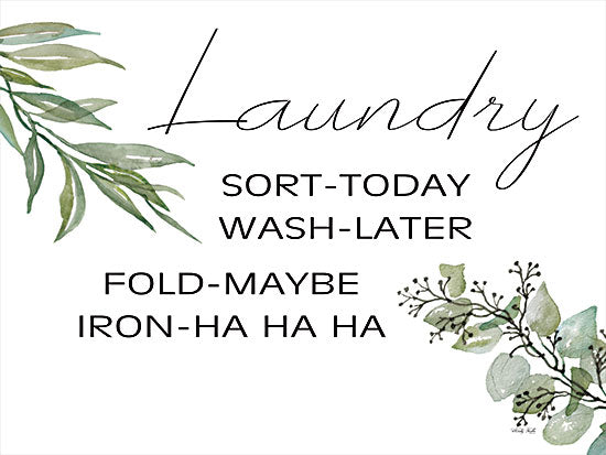 Cindy Jacobs CIN2636 - CIN2636 - Laundry Timeline - 16x12 Laundry, Humorous, Greenery, Eucalyptus, Signs from Penny Lane