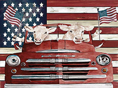 CIN2720 - Patriotic Cows - 16x12