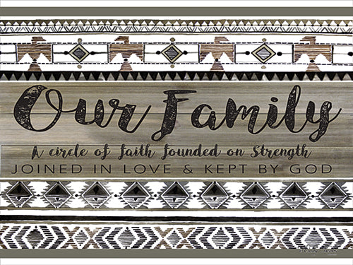 Cindy Jacobs CIN385 - Our Family - Inspirational, Family, Pattern, Tween from Penny Lane Publishing