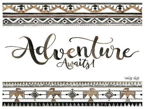 Cindy Jacobs CIN387 - Adventure Awaits - Inspirational, Pattern, Tween from Penny Lane Publishing