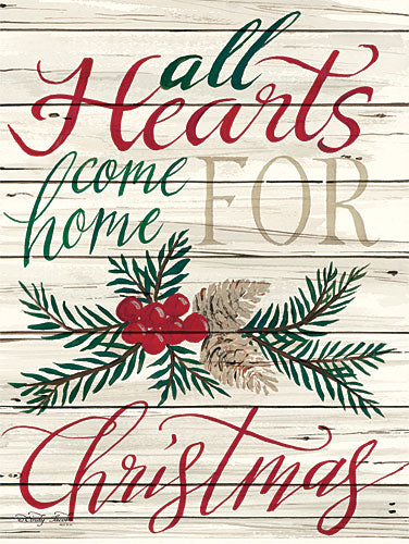 Cindy Jacobs CIN622 - Home for Christmas - Holiday, Holly, Pinecones, Sentiment from Penny Lane Publishing