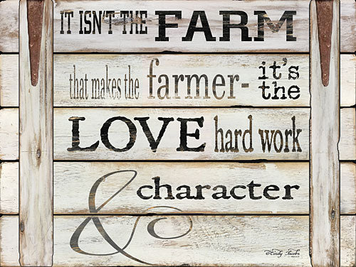 Cindy Jacobs CIN660 - It Isn't the Farm - Farm, Inspirational, Calligraphy, Sentiment from Penny Lane Publishing