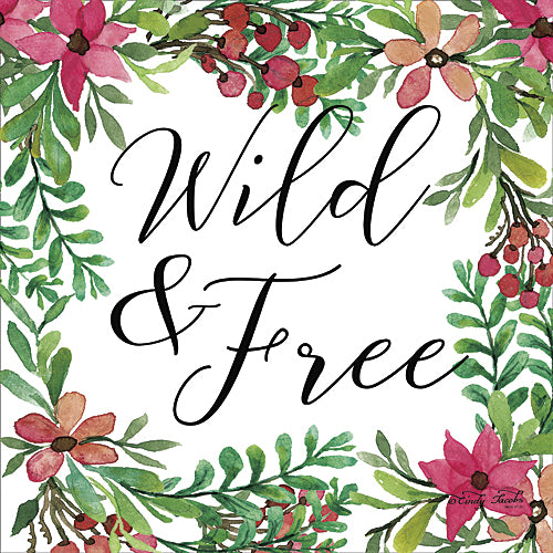 Cindy Jacobs CIN672 - Wild & Free Greenery - Signs, Greenery, Flowers, Home from Penny Lane Publishing