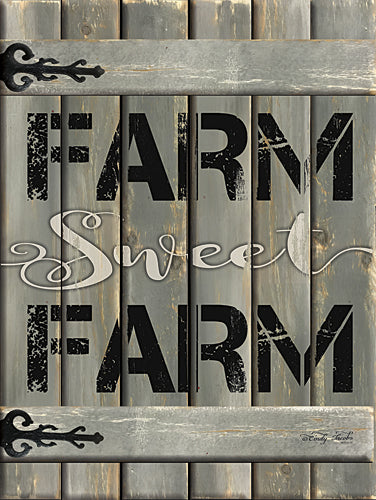 Cindy Jacobs CIN706 - Farm Sweet Farm - Barn Door, Farm, Signs from Penny Lane Publishing