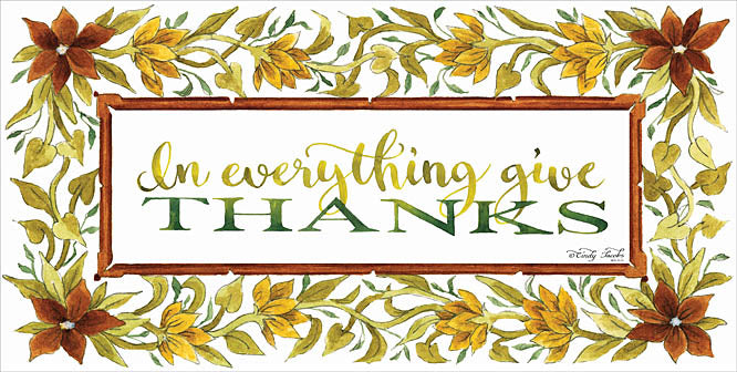 Cindy Jacobs CIN725 - In Everything     - Thanks, Signs, Typography, Flowers, Autumn from Penny Lane Publishing