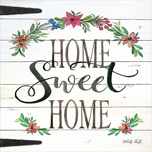 Cindy Jacobs CIN786 - Home Sweet Home - Home, Flowers, Door from Penny Lane Publishing