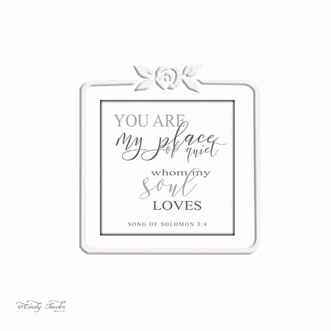 Cindy Jacobs CIN801 - My Soul Loves - Signs, Plaque, Religious, Inspirational from Penny Lane Publishing