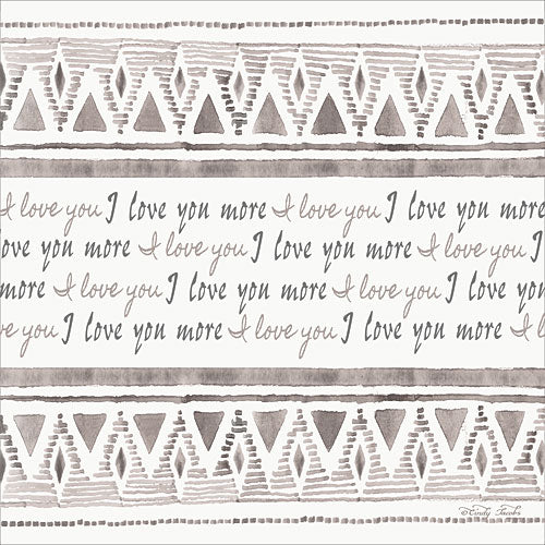 Cindy Jacobs CIN803 - I Love You More - Love, Design, Patterns, Inspiring from Penny Lane Publishing