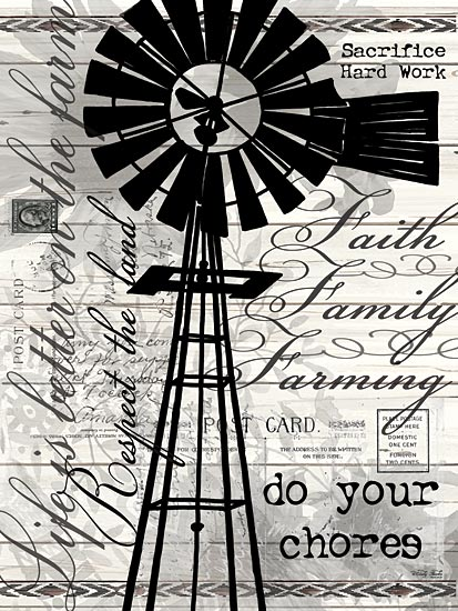 Cindy Jacobs CIN813 - Do Your Chores Windmill - Typography, Words, Signs, Windmill from Penny Lane Publishing