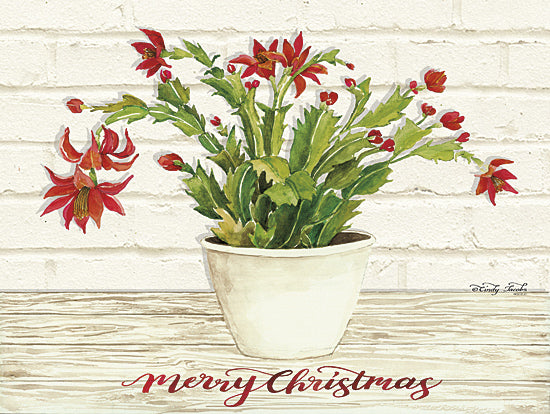 Cindy Jacobs CIN819 - Christmas Cactus - Merry Christmas - Holiday, Christmas, Cactus, Blooms from Penny Lane Publishing