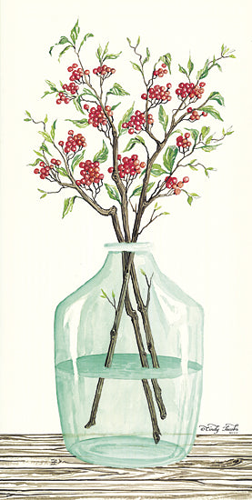 Cindy Jacobs CIN824 - Winter Blooms - Winter, Jar, Flowers from Penny Lane Publishing