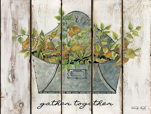 Cindy Jacobs CIN825 - Gather Together - Galvanized, Mailbox Pocket, Flowers, Greenery from Penny Lane Publishing