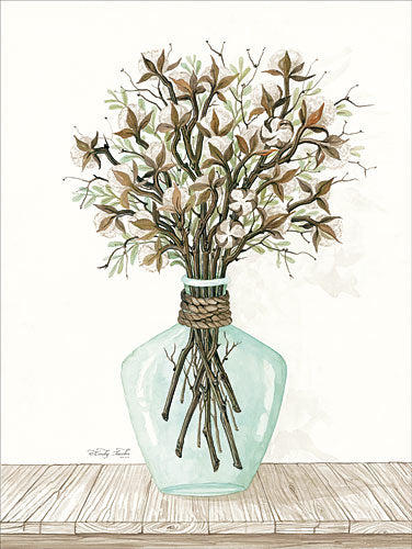 Cindy Jacobs CIN826 - Cotton Bouquet - Cotton, Vase from Penny Lane Publishing
