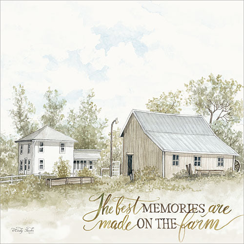 Cindy Jacobs CIN834 - The Best Memories - Farm, House, Memories, Cotton from Penny Lane Publishing