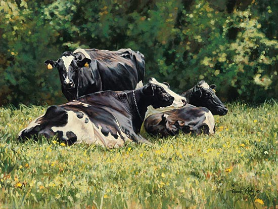 Bonnie Mohr COW211 - The Beautiful Cow - Cows, Pasture, Trees  from Penny Lane Publishing