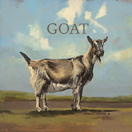 Bonnie Mohr COW311 - Gracey the Goat - Goat, Signs from Penny Lane Publishing