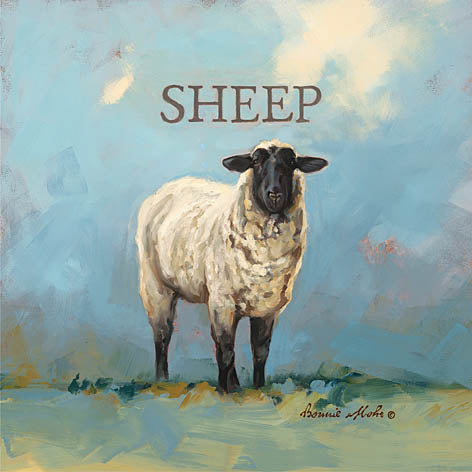 Bonnie Mohr COW312 - Sherlock the Sheep - Sheep from Penny Lane Publishing
