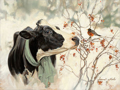 COW319 - The Winter Robin - 16x12