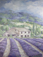 DC116 - French Farmhouse Lavender - 12x16