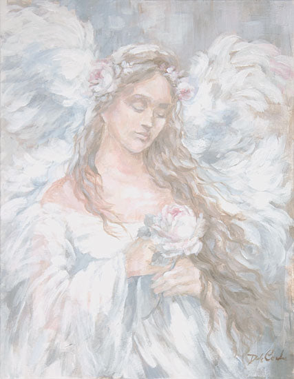Debi Coules DC118 - DC118 - Love - 12x16 Angel, Flower, Love, Religious, Woman from Penny Lane