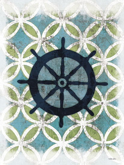Dee Dee DD1429 - Coastal Patterns II - Captain's Wheel, Patterns, Contemporary from Penny Lane Publishing