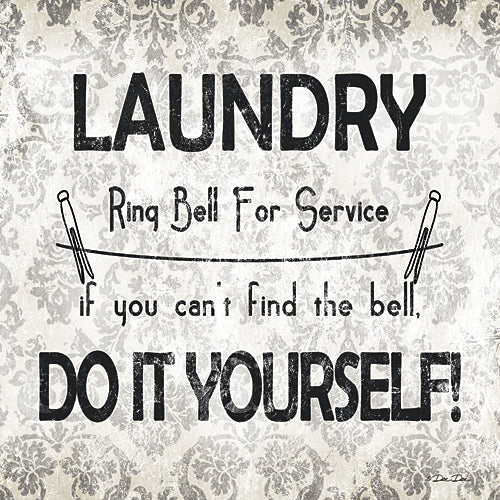 Dee Dee DD1523 - Laundry - Do It Yourself - Laundry, Sign, Humor, Laundry from Penny Lane Publishing