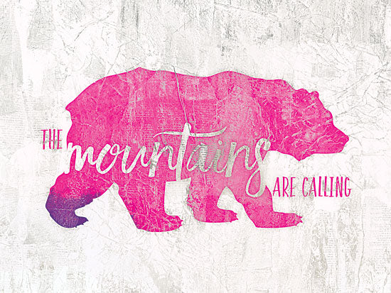 Dee Dee DD1616 - The Mountains are Calling - Bear, Signs from Penny Lane Publishing