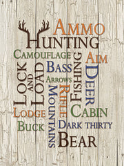 DD1620 - Hunting Words - 12x16