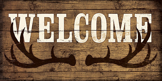 Dee Dee DD1624 - Welcome Antlers - Antlers, Welcome, Signs, Greeting from Penny Lane Publishing