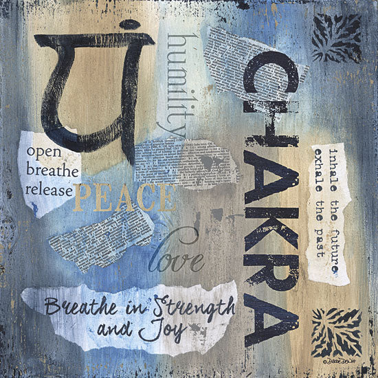 Debbie DeWitt DEW424 - Yoga Series - Chakra - Yoga, Signs, Typography from Penny Lane Publishing