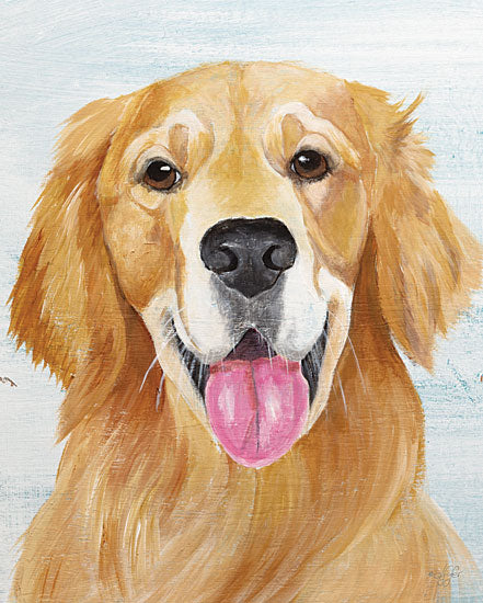 Diane Fifer DF150 - DF150 - Golden - 12x16 Dog, Golden Retriever, Pet from Penny Lane
