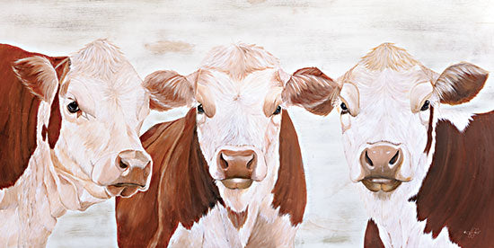 Diane Fifer DF151 - DF151 - The Herefords - 18x9 Cows, Herefords, Farm Animals from Penny Lane