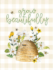 Grow Beautifully Beehive - 12x16