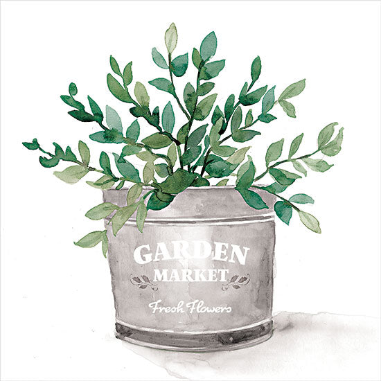 Dogwood Portfolio DOG139 - DOG139 - Garden Market Bucket - 12x12 Garden Market Bucket, Greenery, Galvanized Bucket from Penny Lane
