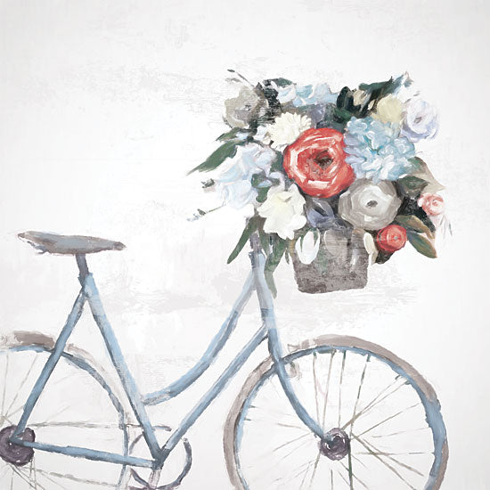 Dogwood Portfolio DOG148 - DOG148 - Bicycle Reflections - 12x12 Bicycle, Bike, Flowers, Flowers in Basket from Penny Lane