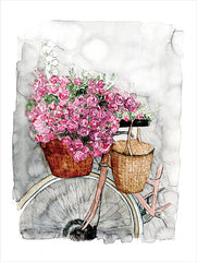 DOG158 - Bicycle in Spring - 12x16