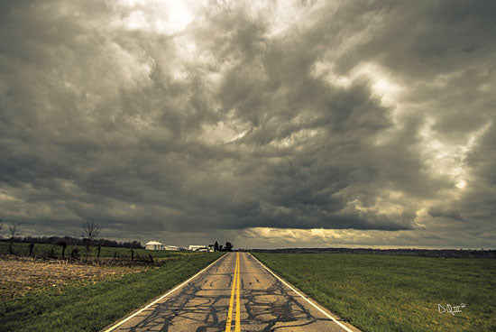 Donnie Quillen DQ102 - Storm Season I - Keywords, Storm, Road, Path, Clouds, Landscape from Penny Lane Publishing
