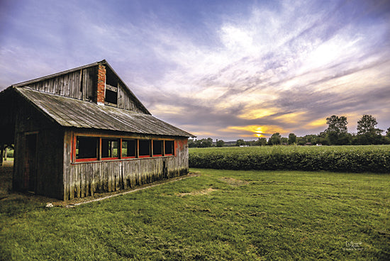 Donnie Quillen DQ112 - A Summer Sunset I - Barn, Landscape from Penny Lane Publishing