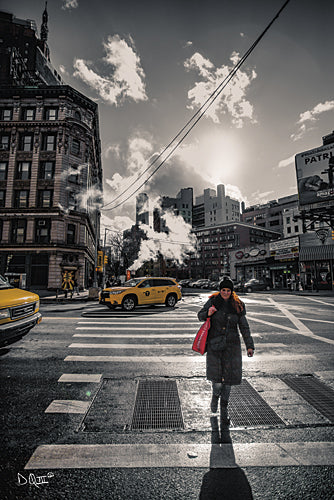 Donnie Quillen DQ120 - Crosswalks of Manhattan II - Manhattan, Crosswalk, City, Landscape, Urban from Penny Lane Publishing