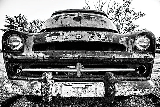 Donnie Quillen DQ164 - DQ164 - Rust Covered    - 18x12 Car, Dodge, Rusty Car, Vintage, Antique, Masculine, Photography from Penny Lane