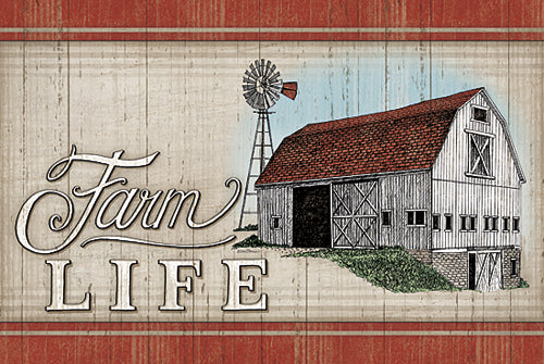 Deb Strain DS1450 - The Farm Life - Country, Barn, Farm, Signs from Penny Lane Publishing