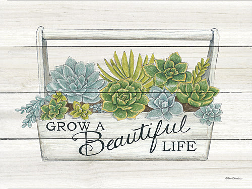 Deb Strain DS1495 - Beautiful Life Succulents - Succulents, Inspirational from Penny Lane Publishing