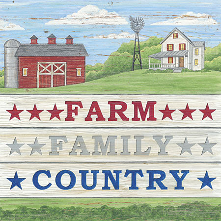Deb Strain DS1555 - Farm, Family, Country - Farm, Country, Patriotic, Barn from Penny Lane Publishing